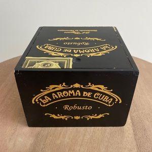 Cute Wooden Cigar Box